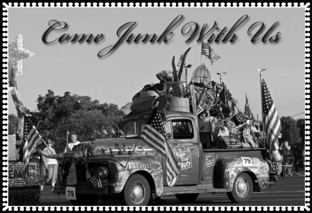 Come junk with us truck
