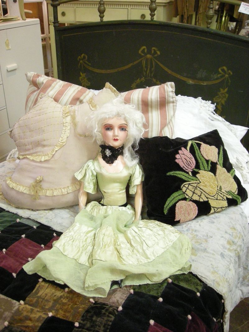 Doll on Bed