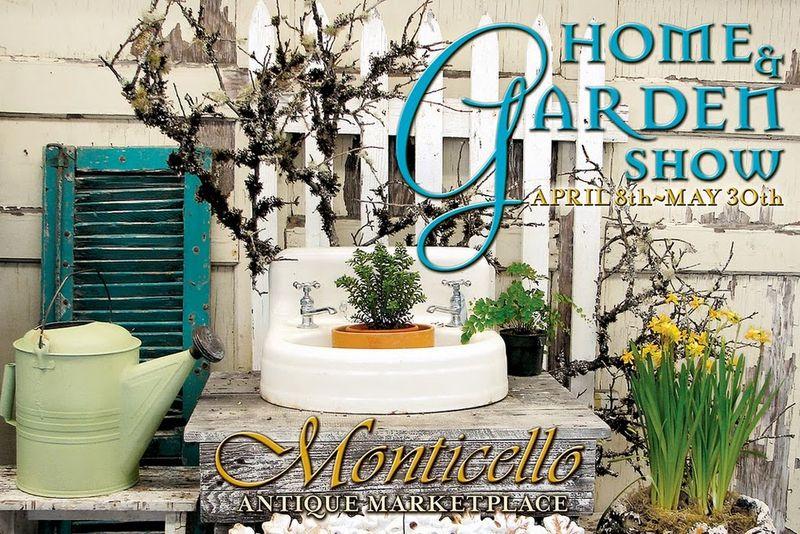Monticellos garden pcard
