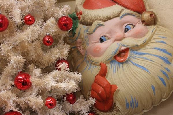 Santa & Tree
